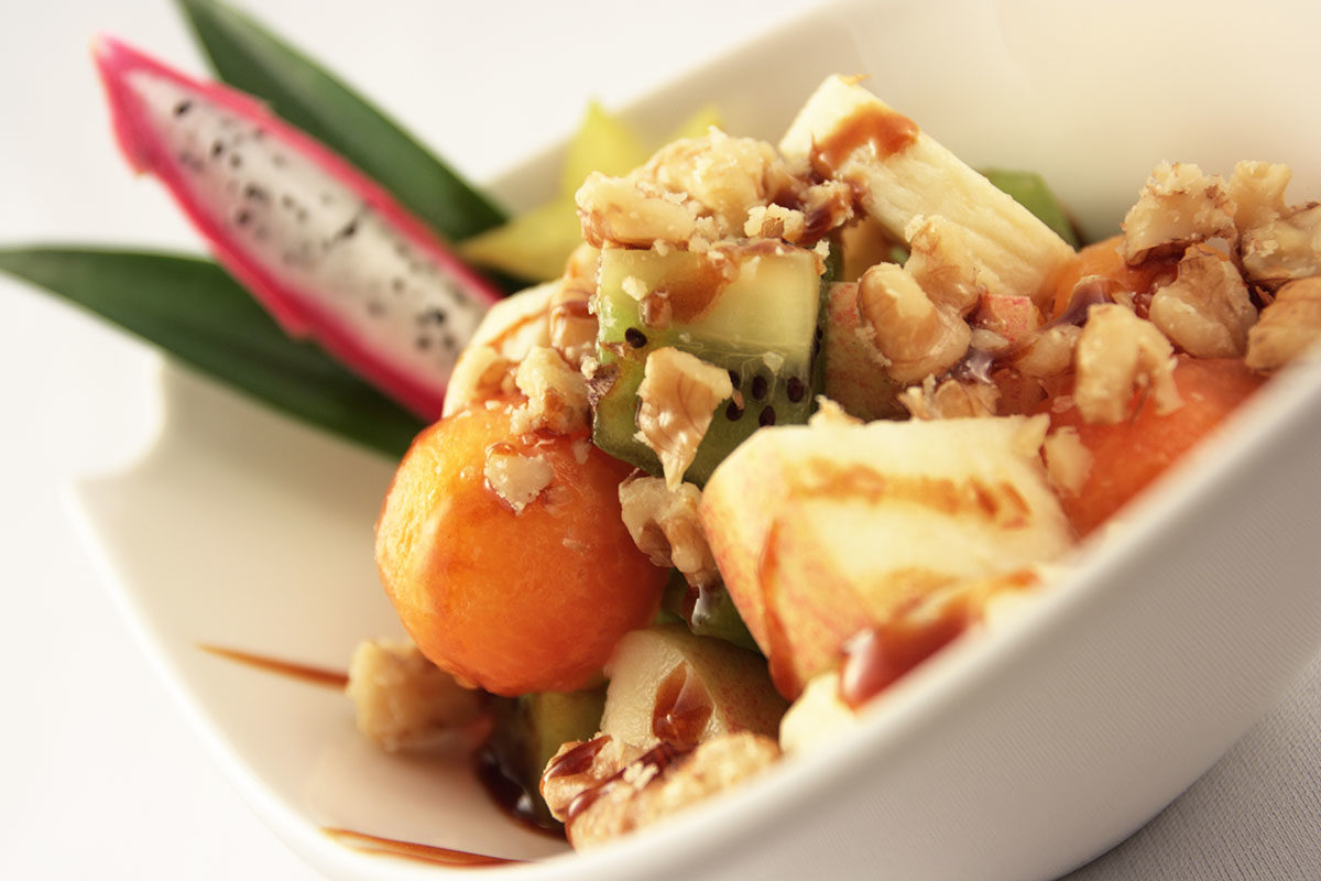 Papaya-Minz-Salat